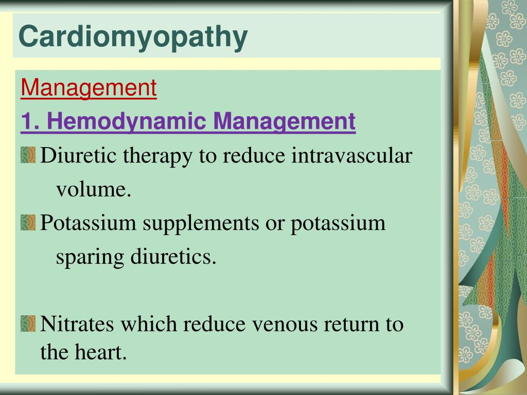 PPT - Cardiomyopathy PowerPoint Presentation, free download - ID:2682618