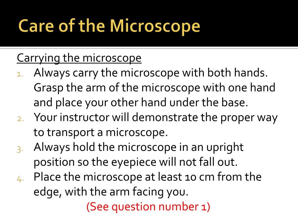 Microscope Mania Unit Review