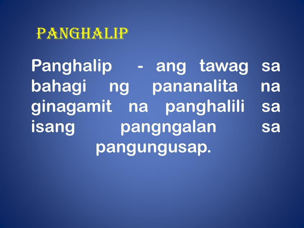 Uri Ng Panghalip Worksheet Grade 1