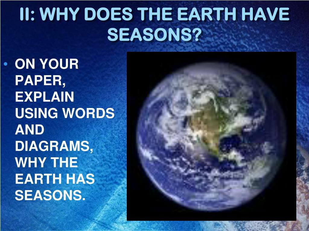 Bill Nye Earth Seasons Worksheet S