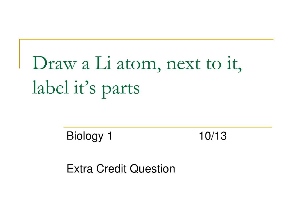 35 Draw And Label An Atom