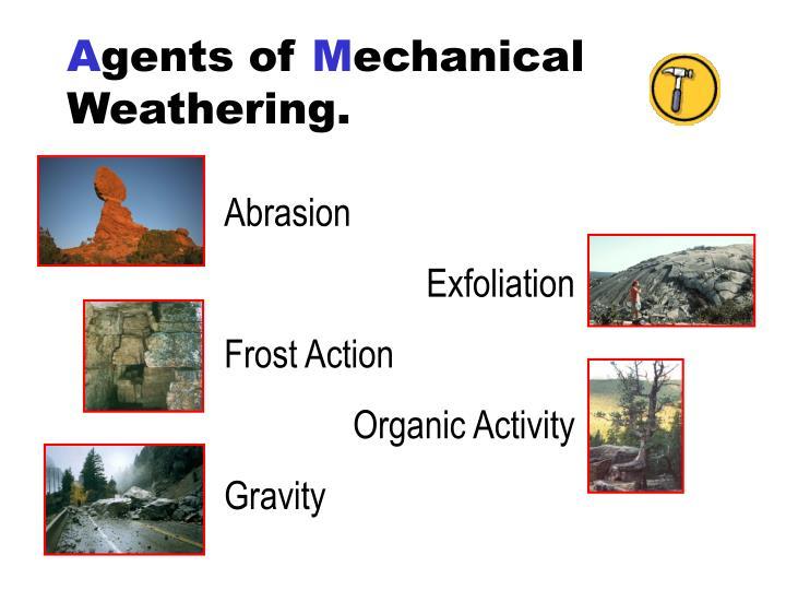 Richmond's Weathering PowerPoint Presentation