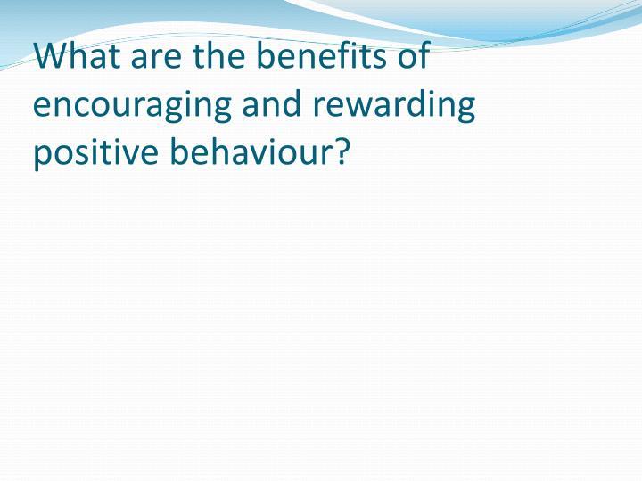 Non Tangible Rewards Students
