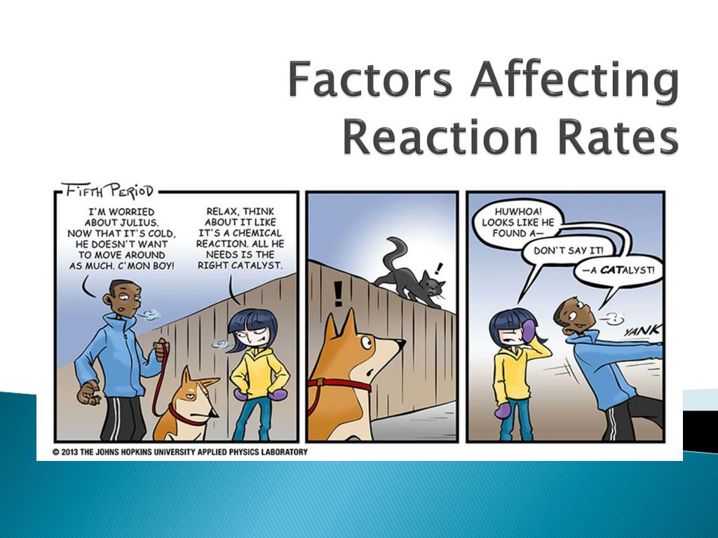 Factors Affecting Reaction Rates Lab Lab 6 01 21
