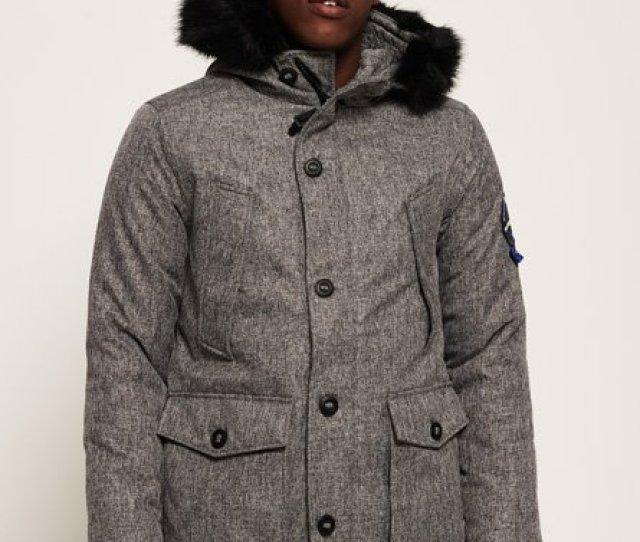 Everest Tweed Parka Jacket