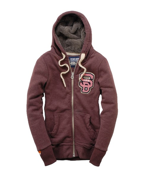 Superdry Supersoft Fur Hood