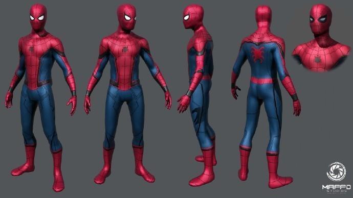 《美隊3》蜘蛛俠3D設計圖曝光 來圍觀小蜘蛛_電影劇照_圖集_電影網_1905.com