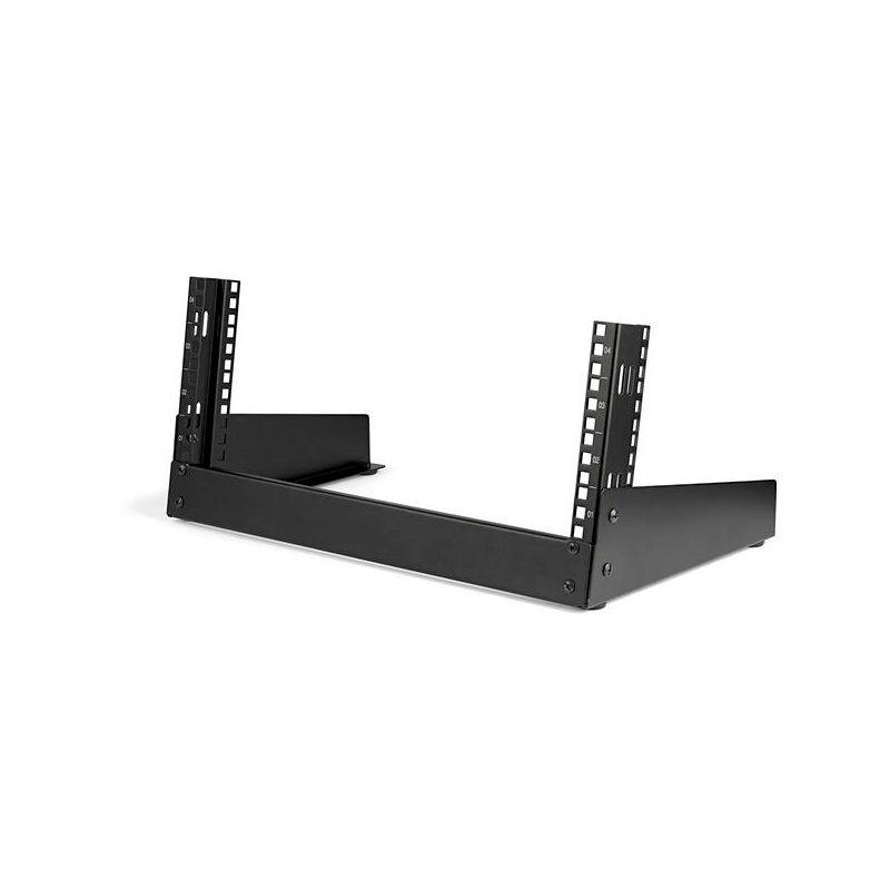 startech 4u open frame desktop rack
