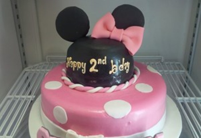 Sell Minnie Mouse Birthday Cake From Indonesia By Khena Cakecheap Price