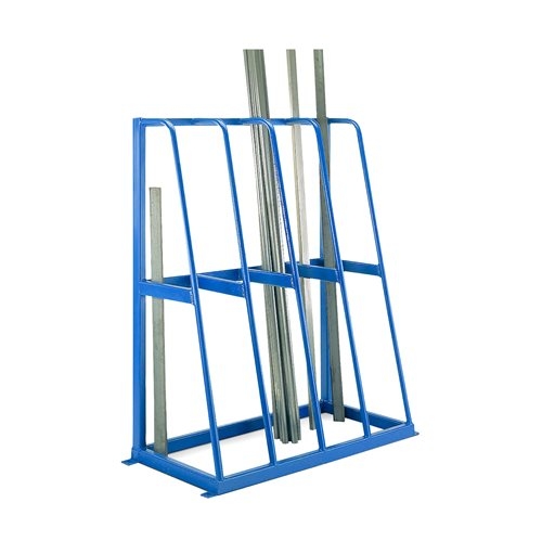 vertical storage rack 4 sections 1500x1200x600 mm