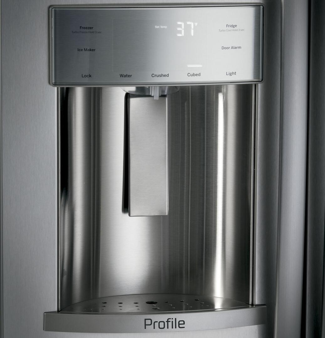 GE Profile PSB42YSKSS 42 Inch Profile Series Stainless Steel Side By Side Refrigerator With 243
