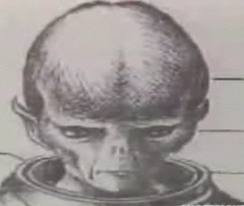 Extraterrestrial Airship Pilot Little Traveler Alien
