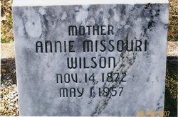 Annie Missouri <i>Flowers</i> Wilson