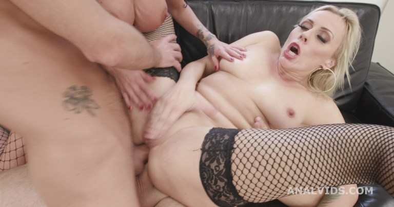Milfs and Roses #1, Brittany Bardot & Laura Fiorentino Balls Deep Anal, DAP, ATM, Squirt Drink, Gapes, Buttrose GIO1628