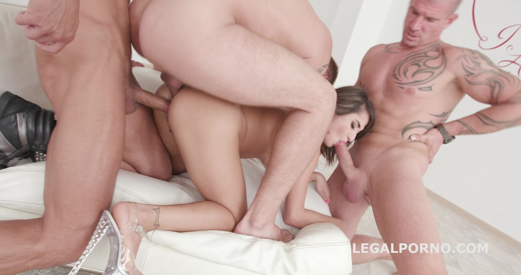 DAP Destination Isabella Nice Gets 5on1 with Balls Deep Anal, DP, Gapes, DAP, Swallow GIO718
