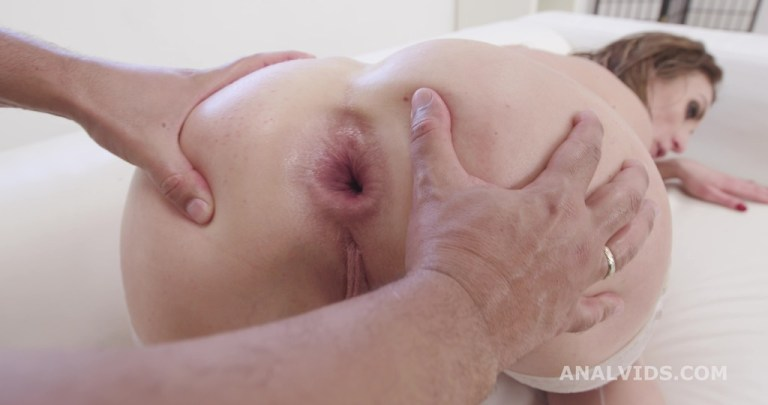 Hot Milf Julia North Vs 2 BBC, Balls Deep Anal and DAP, Almost Buttrose, Creampie Swallow and Cumswallow GL410