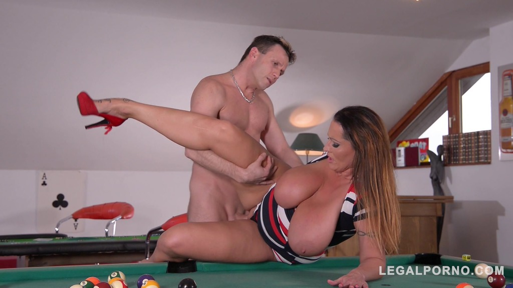 Mind-blowing busty top model Laura Orsolya shivers with pleasure after fuck GP295