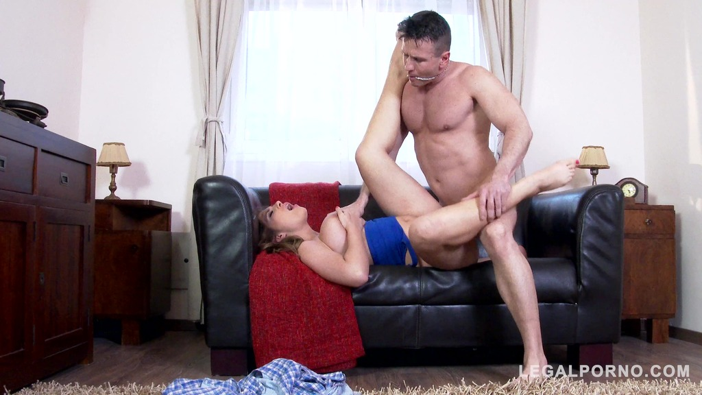 Sexy babe Aida Swinger gets her giant natural tits sucked & fucked hard GP485