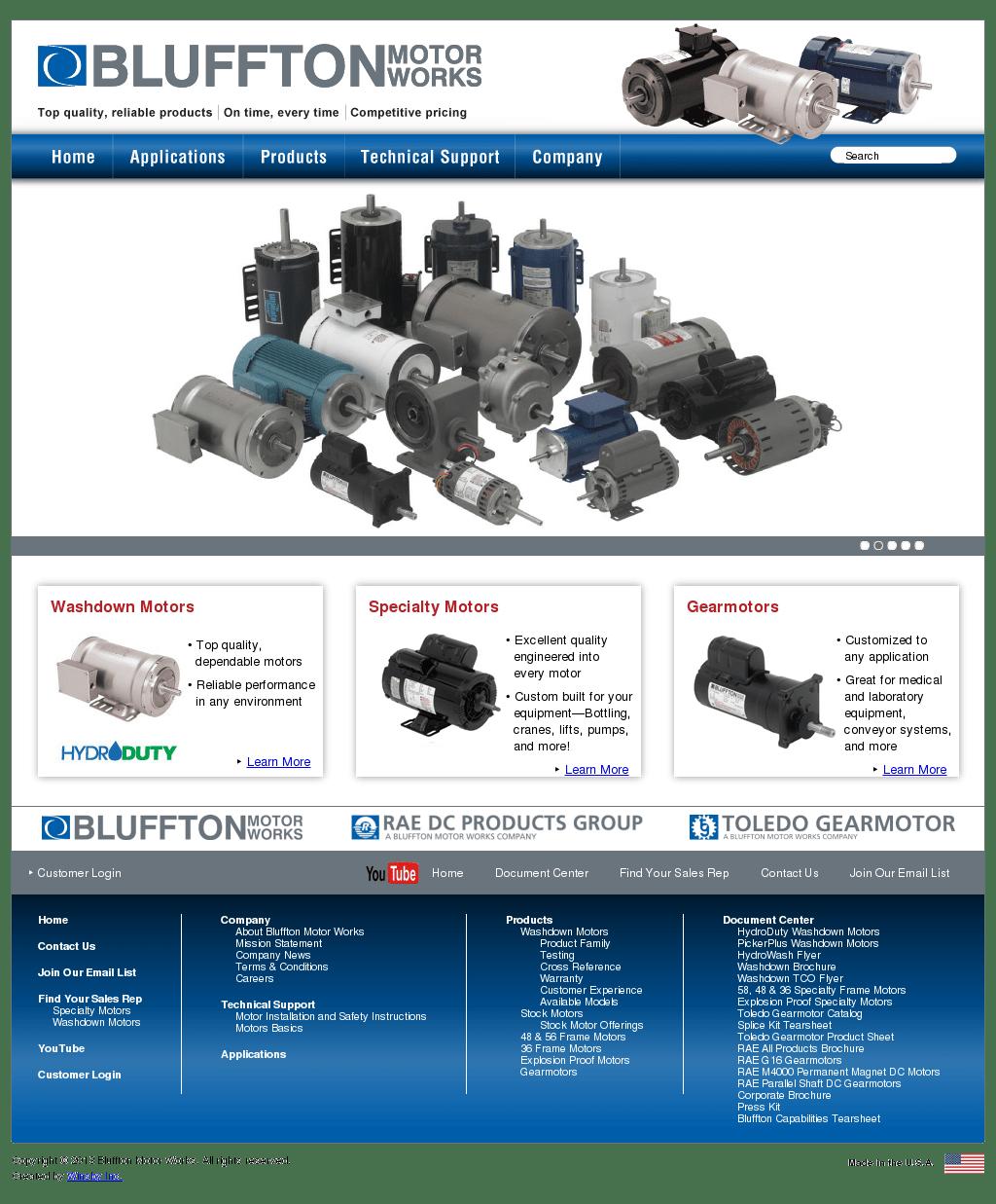 Bluffton Motor Works Wiring Diagram Free Download Permanent Magnet Wire Center U2022