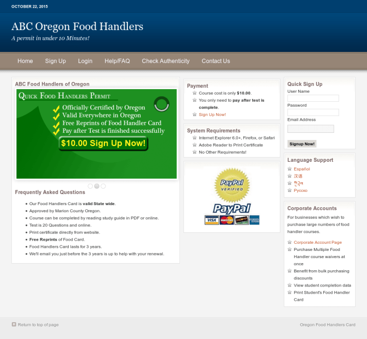 ... Food Handlers Card. Source · Abcfoodhandlers Competitors Revenue And Employees Owler Company Profile