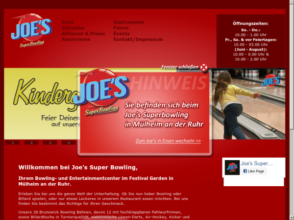 Joe's Superbowling Competitors, Revenue and Employees ...