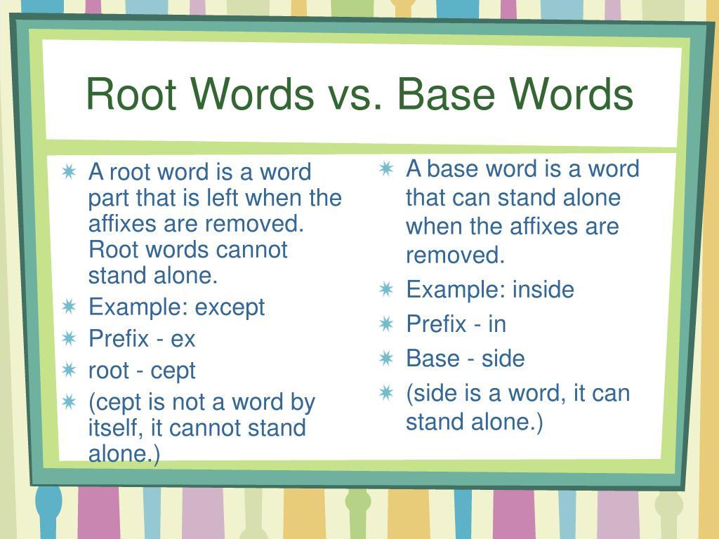 Hd Ex Words Prefix