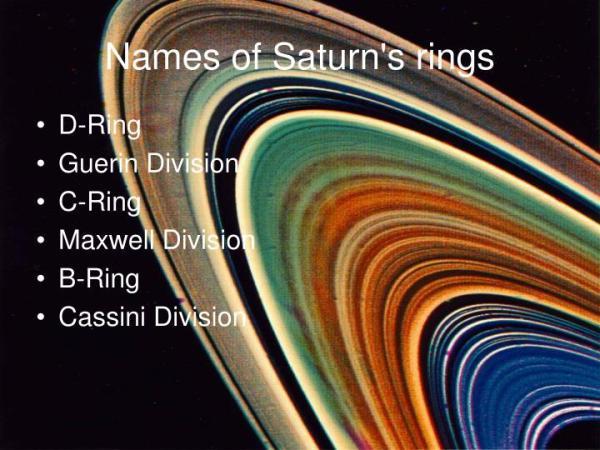 PPT Saturn PowerPoint Presentation ID3948776