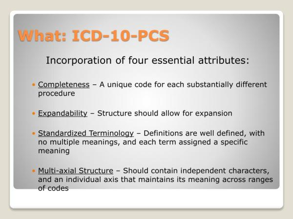 PPT - ICD10-CM/PCS PowerPoint Presentation, free download ...