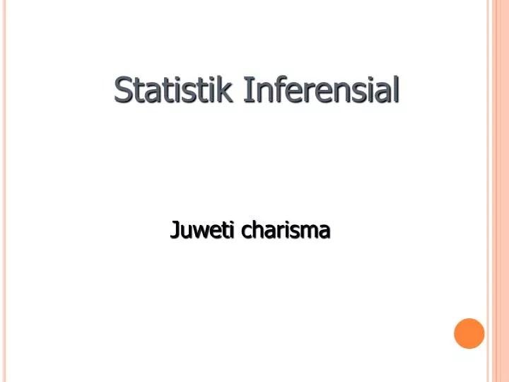 Dalam statistik inferensial harus ada pengujian hipotesis yang bertujuan untuk melihat apakah ukuran statistik yang digunakan dapat ditarik menjadi kesimpulan yang lebih luas dalam … Ppt Statistik Inferensial Powerpoint Presentation Free Download Id 4257515