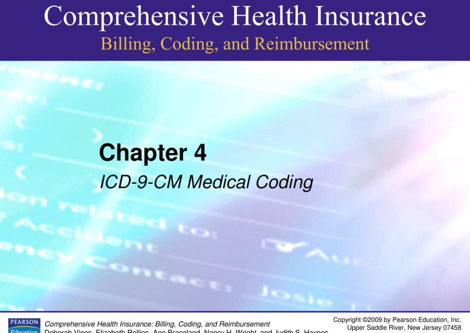 Ppt Chapter 4 Icd 9 Cm Medical Coding Powerpoint Presentation Free Download Id 4275371