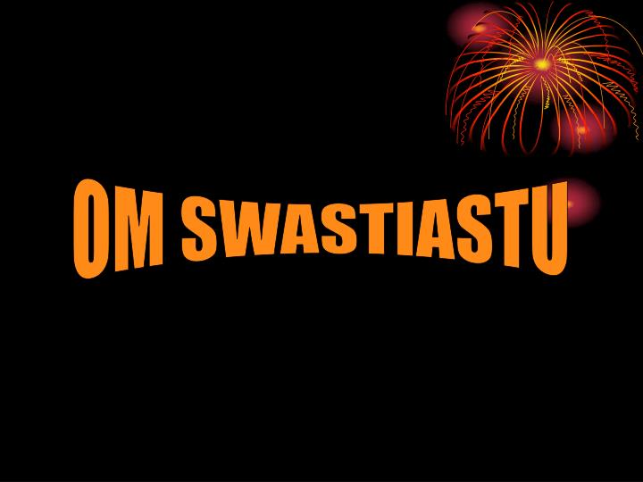 Background Bergerak Om Swastiastu