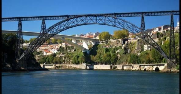 Мост Марии Пии. Португалия.