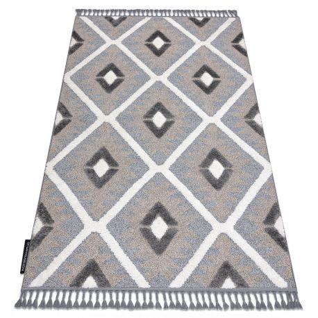 https 24tapis fr tapis modernes 15100 tapis maroc p651 diamants gris blanc franges berbere marocain shaggy html