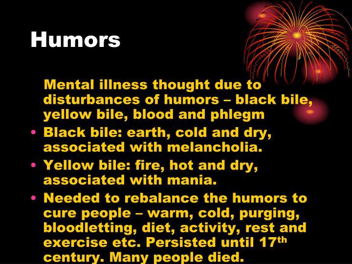 Black Bile Four Humors Cures