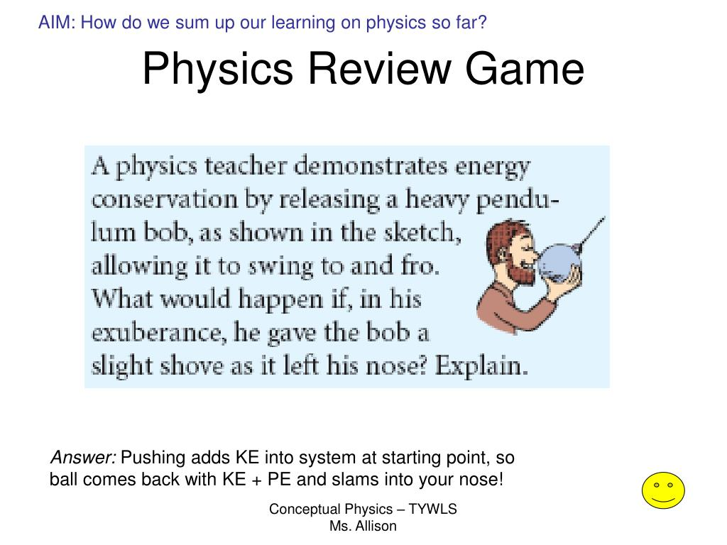 Bestseller Conceptual Physics Review Answer