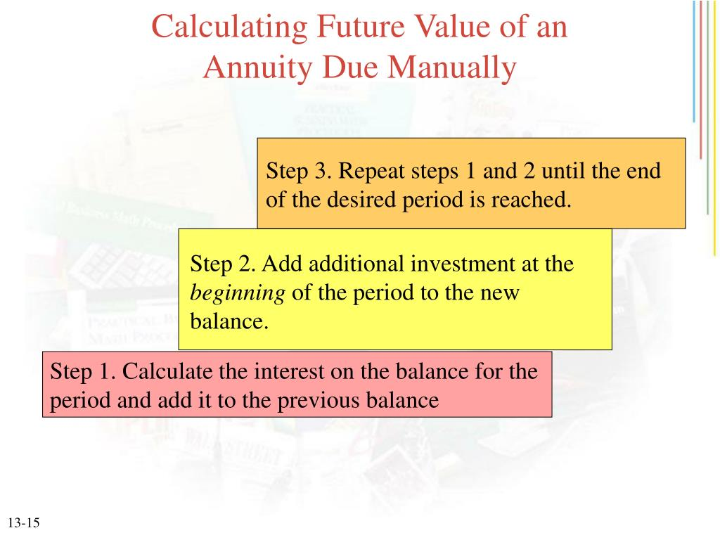 Present Value Of Annuity Due Table 13