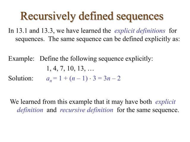 PPT - 19.19 Recursive Definitions PowerPoint Presentation, free