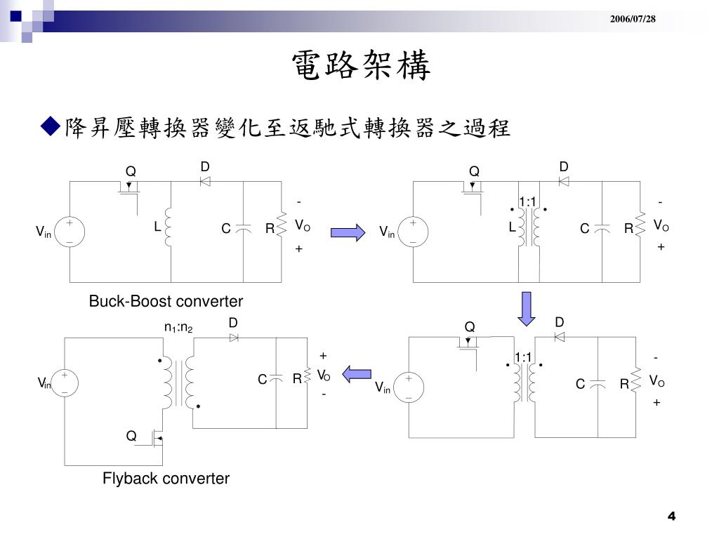 PPT - 返馳式轉換器 Flyback converter PowerPoint Presentation, free download - ID:6093622