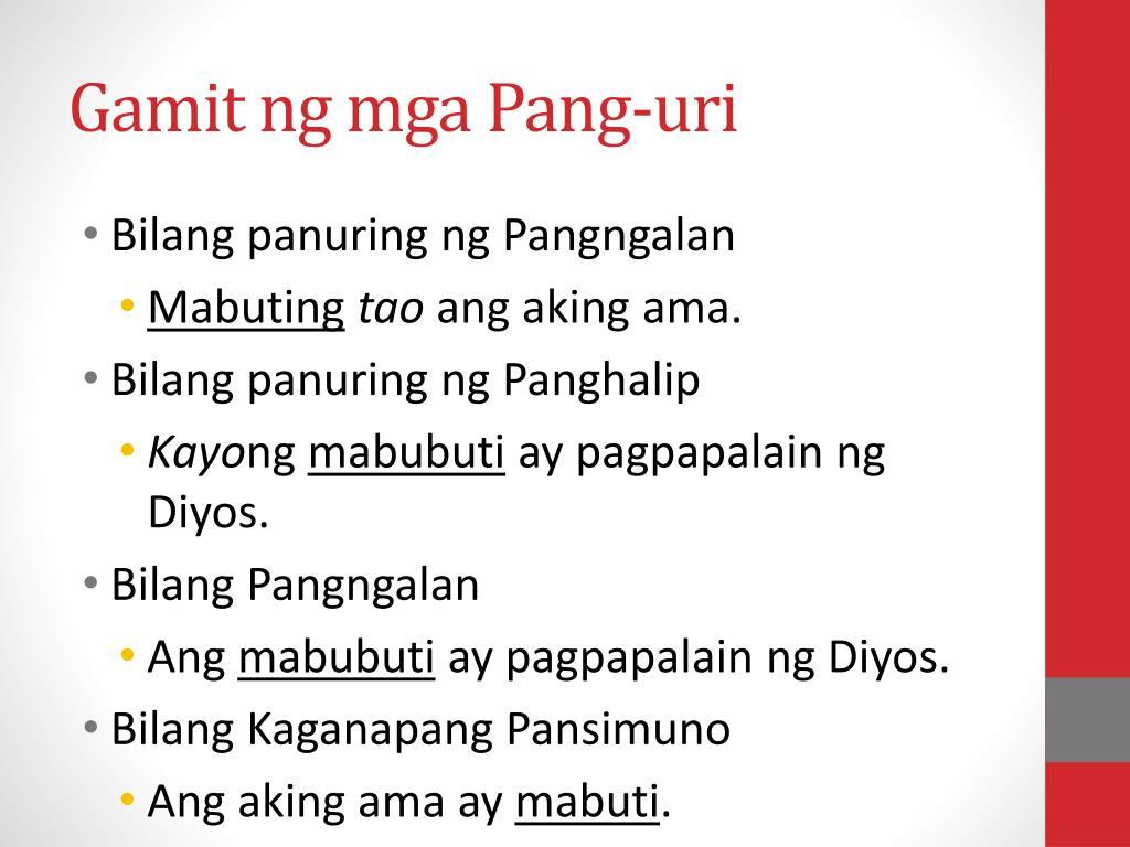 Worksheet In Filipino 5 Pangngalan