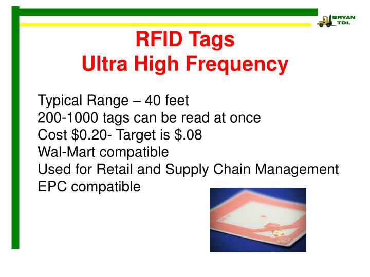 PPT - Real World Applications of RFID PowerPoint ...