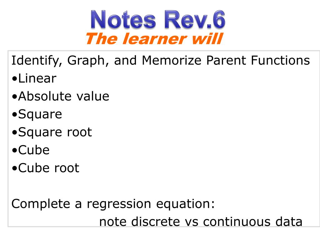 Cube Root Parent Function Equation