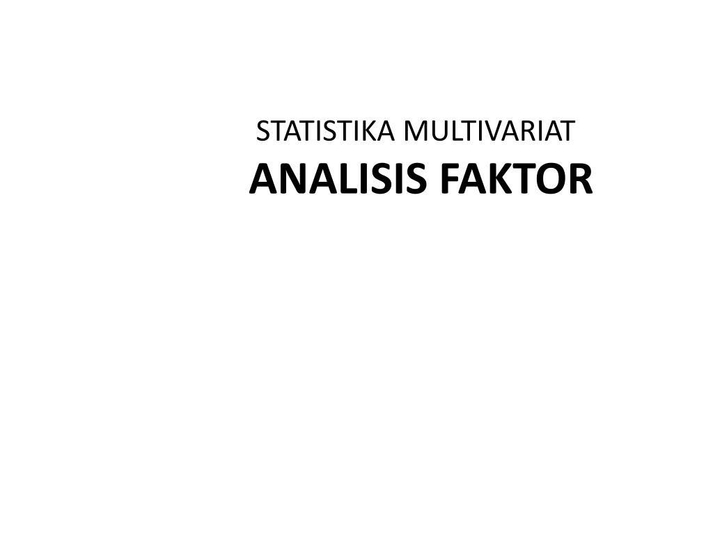 Mata kuliah di program studi statistika terapan dan komputasi jenjang d3. Ppt Statistika Multivariat Manova Powerpoint Presentation Free Download Id 6505564