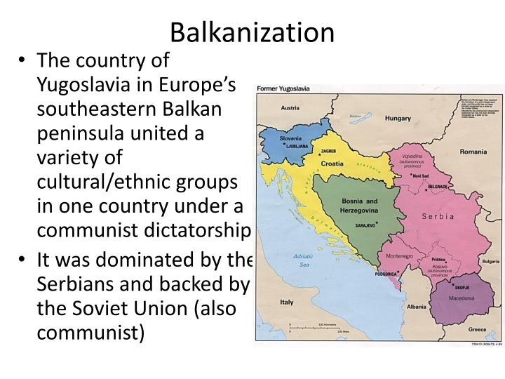 Image result for image of balkanization