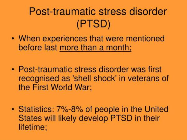 PPT - Traumatic Stress PowerPoint Presentation - ID:6531052