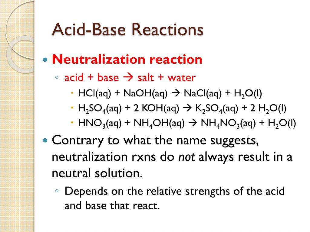 Nh4no3 Acid Or Base Or Neutral