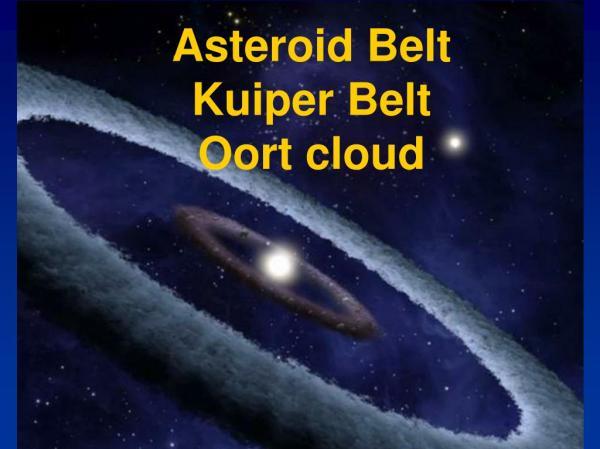 PPT Asteroid Belt Kuiper Belt Oort cloud PowerPoint