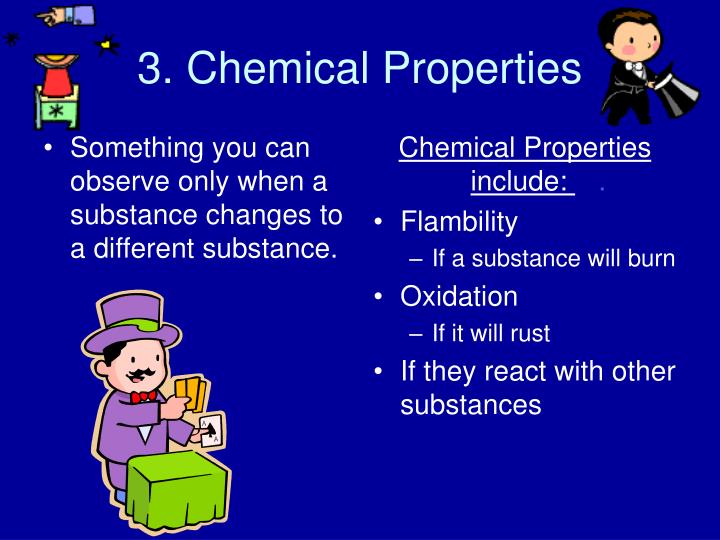 They And Changes Substance And Physical Used Chemical How What Are Are
