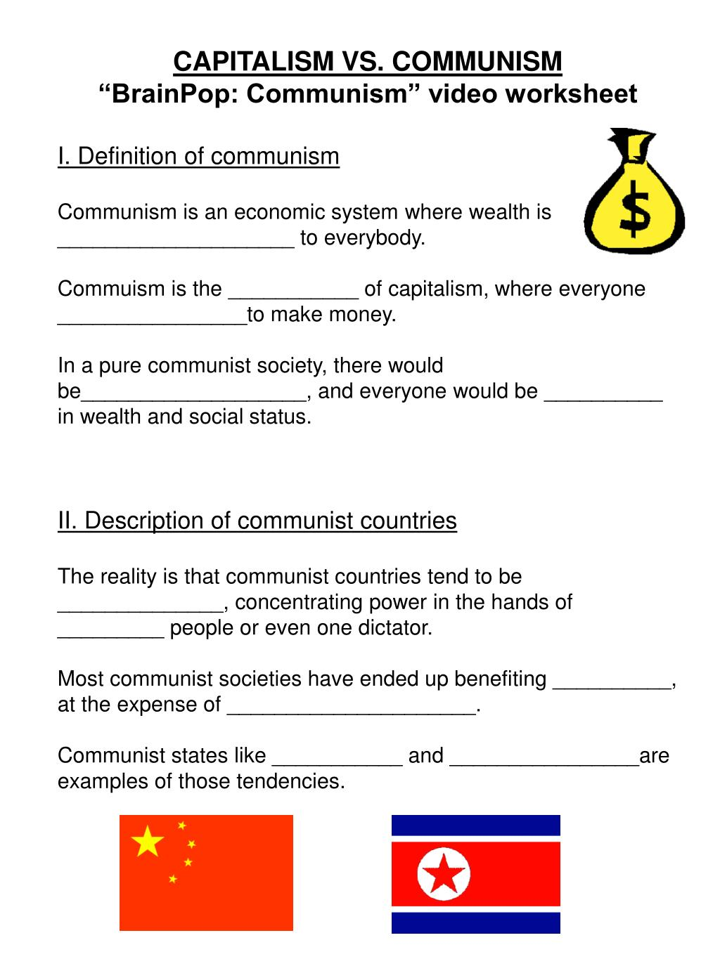 Compare And Contrast Socialism Communism And Capitalism