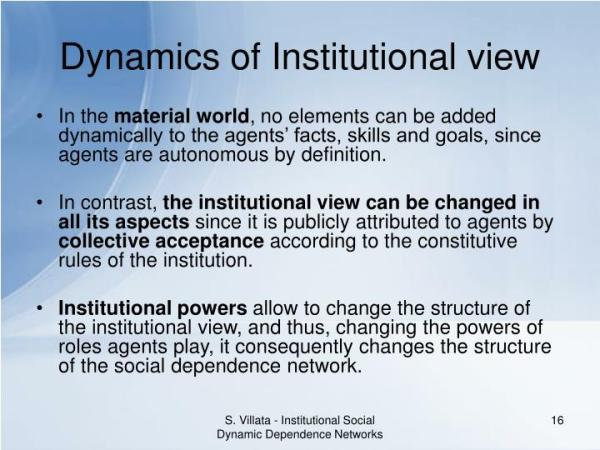 PPT - Institutional Social Dynamic Dependence Networks ...