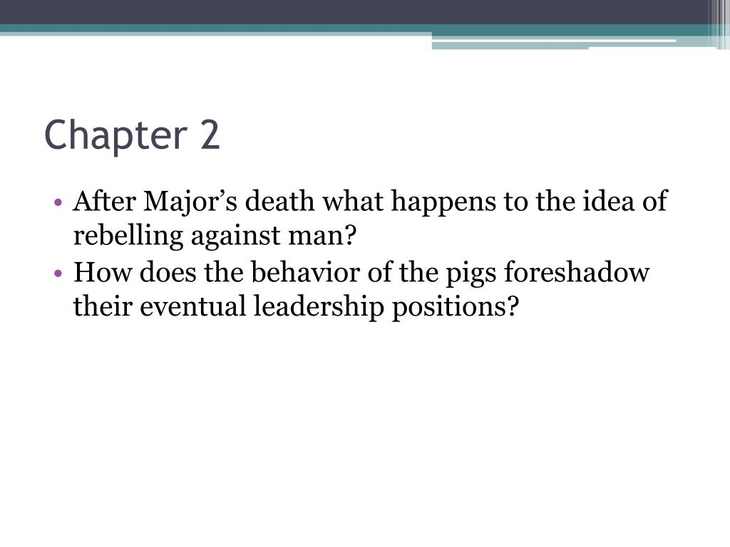 Foreshadow Examples Powerpoint